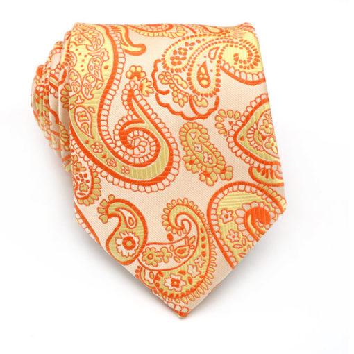 orange_paisley_neck_tie_australia