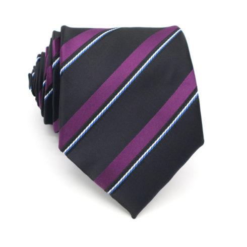 purple_black_striped_neck_tie_rack_australia