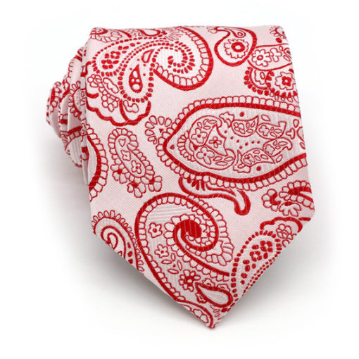 red_ivory_paisley_neck_tie_rack_australia