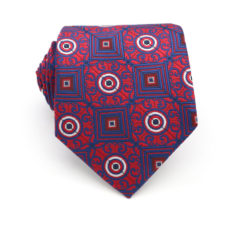 red_navy_blue_vine_square_circle_neck_tie_rack_australia