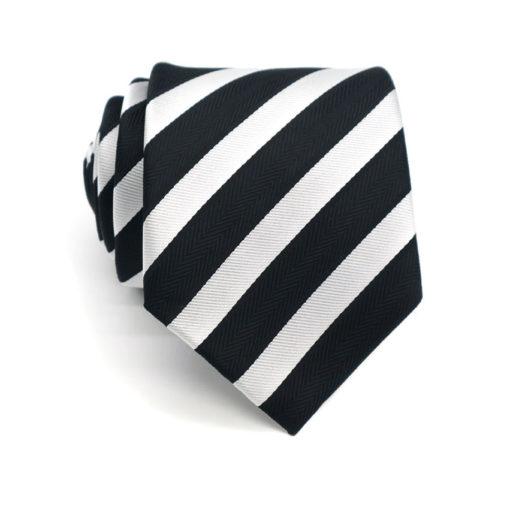 black_white_striped_neck_tie_rack_australia_online