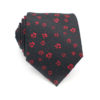 red_black_floral_neck_tie_rack_australia