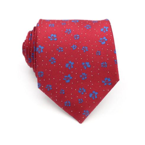 red_blue_mini_floral_neck_tie_rack_australia.jpg