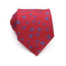 red_blue_mini_floral_neck_tie_rack_australia.jpg