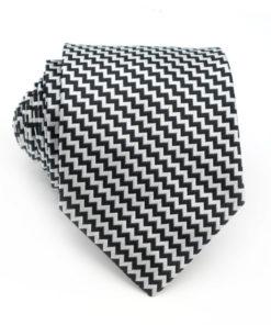 black_white_zig_zag_neck_tie_rack_australia_online