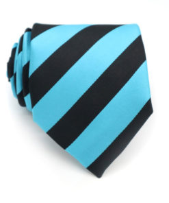 striped sky blue and black tie rack australia
