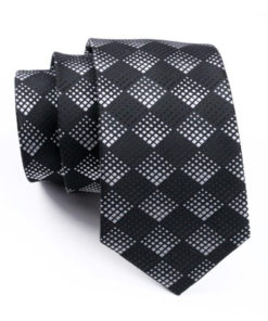 black_white_dotted_diamond_neck_tie_rack_australia