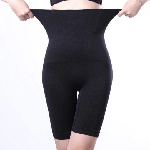 Women_Shapewear_body_suit_High_Waist_Panty_Body_Control_Tummy_Slim_Shaper_australia_front_Butt_Lifter_black