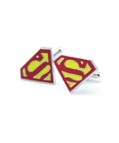 superman cufflinks dc comics